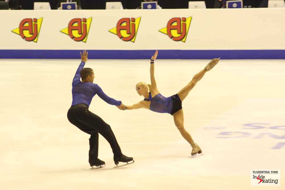 Aliona and Robin, at the 2013 European Figure Skating Championships