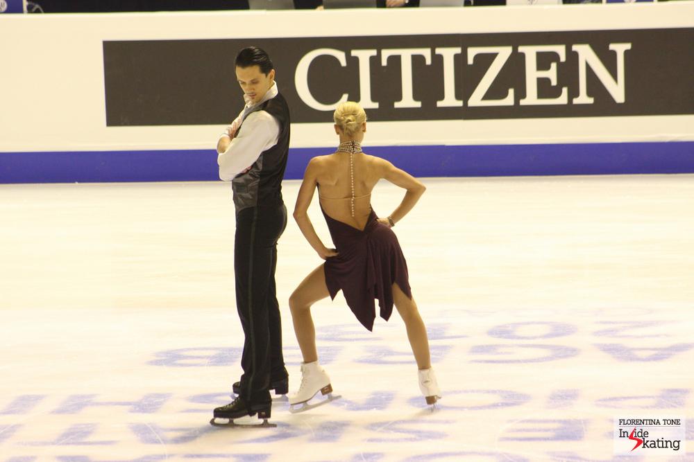 Tatiana Volosozhar and Maxim Trankov (2013 Europeans, Zagreb)