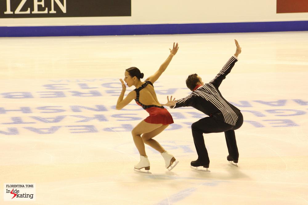 Ksenia Stolbova and Fedor Klimov (Europeans, Zagreb, 2013)