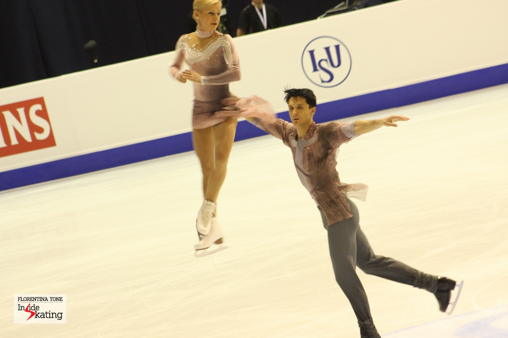 Tatiana and Maxim at the 2013 European Figure Skating Championships in Zagreb