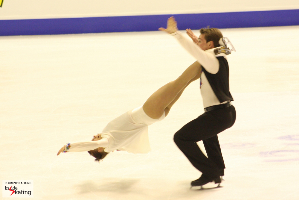 Julia Zlobina and Alexei Sitnikov (Europeans, Zagreb, 2013)
