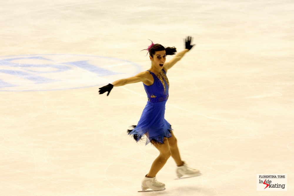 Valentina Marchei, at 2013 European Figure Skating Championships in Zagreb