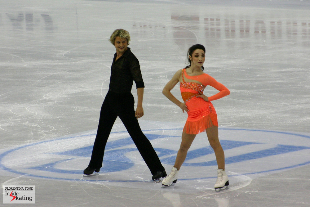 Meryl Davis and Charlie White (2012 World Figure Skating Championships, Nice, France)