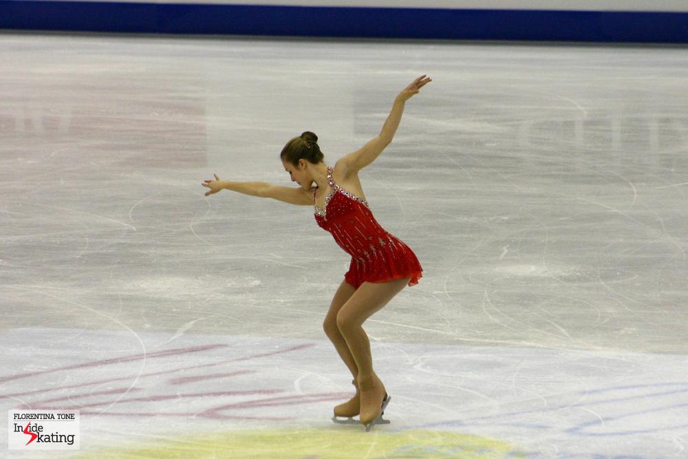 Ashley Wagner, Short Program, Nice, 2012