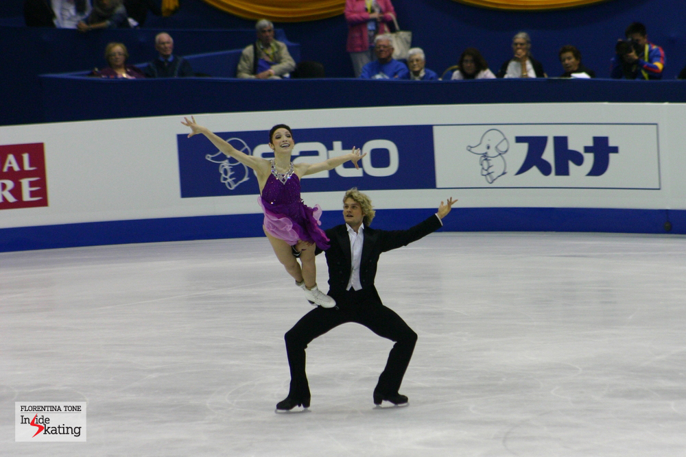 If IOlympics were tomorrow, Meryl Davis and Charlie White would win the gold in the ice dancing event (photo taken in Nice, at the 2012 Worlds)