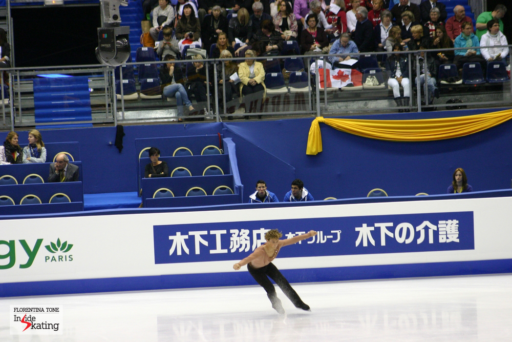 Adam Rippon in Nice, 2012, Free Program