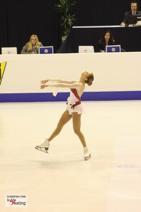 Carolina Kostner, gold in Zagreb (2013 Europeans)