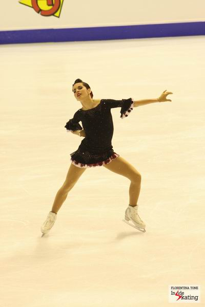 Valentina Marchei (Europeans, Short Program, Zagreb, 2013)