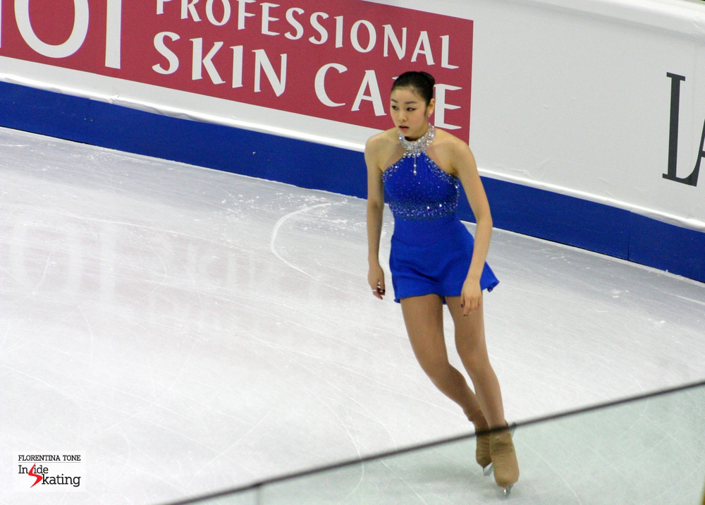 Yuna Kim, at the 2010 Worlds in Torino
