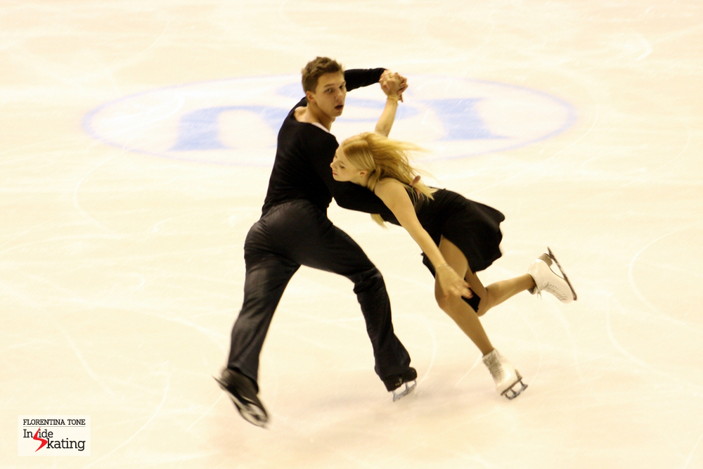 Ekaterina Bobrova and Dmitri Soloviev are the winners of the gold medal at 2013 Europeans in Zagreb