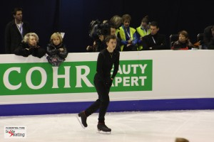 Maxim Kovtun: this young man really wants that single Olympic berth of Russia in the men's event