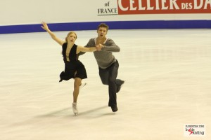 Ice (short) dance at Cup of China: the French vs. the Russians