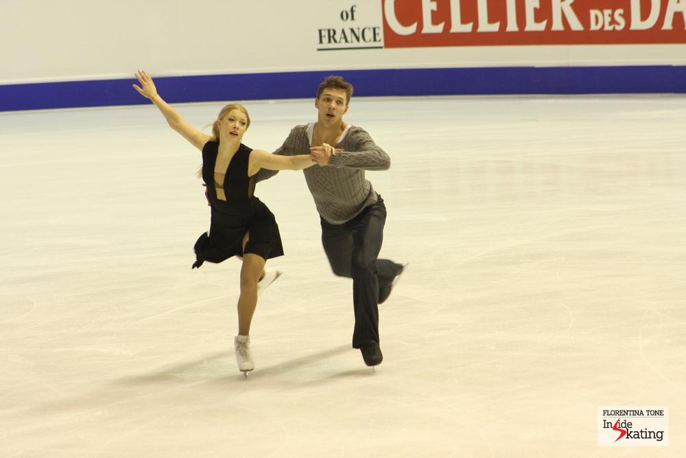 Ekaterina Bobrova and Dmitri Soloviev, gold at the 2013 Europeans in Zagreb