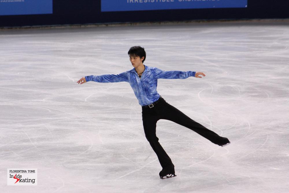 Yuzuru Hanyu (2013 Trophée Eric Bompard)