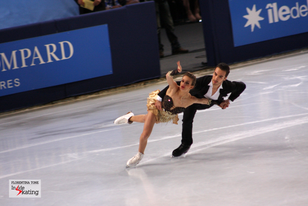 The young and talented Gabriella Papadakis and Guillaume Cizeron, at the 2013 Trophee Eric Bompard