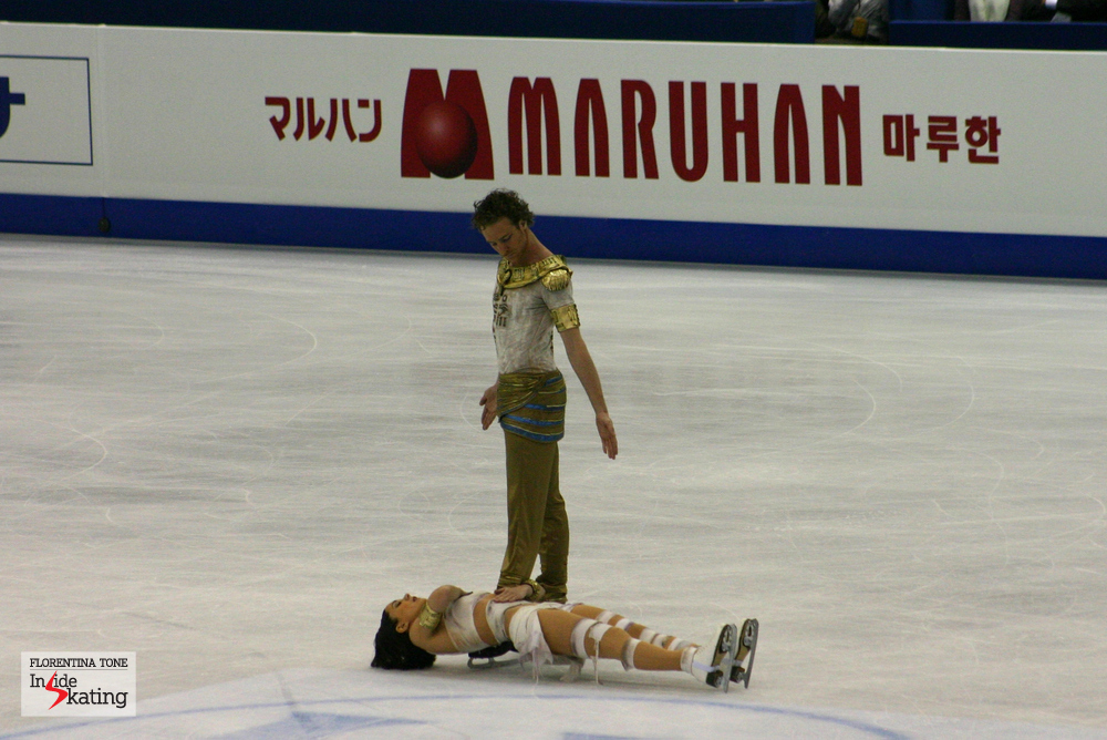 Nathalie and Fabian: bronze medal at the 2012 World Figure Skating Championships in Nice