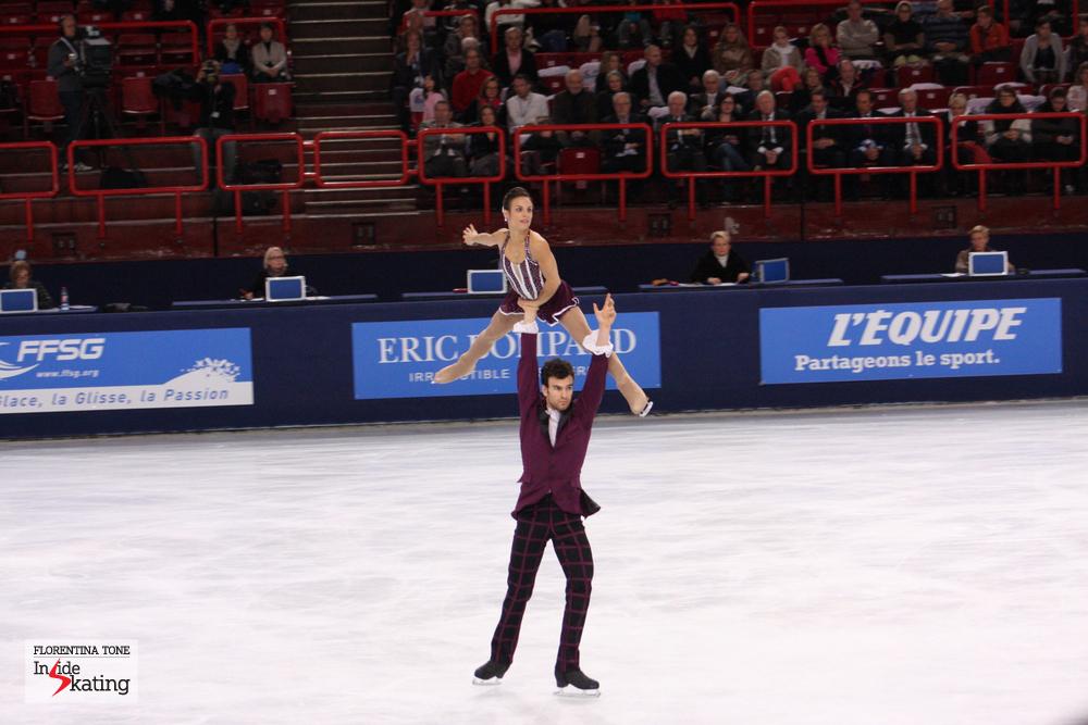 Meagan Duhamel and Eric Radford, silver in Paris