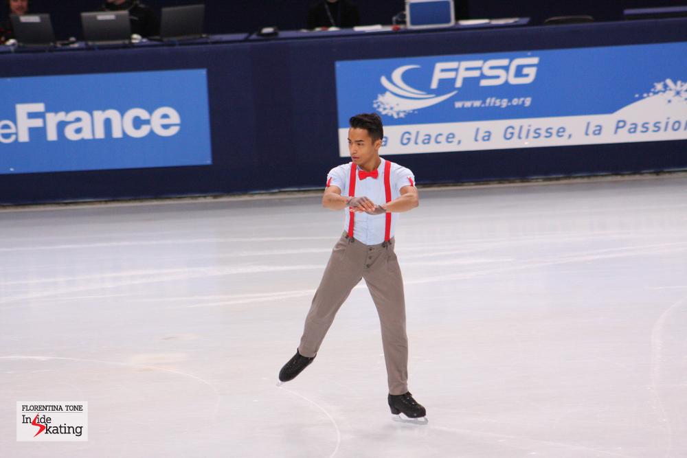 Florent Amodio at Palais Omnisports de Bercy (2013 TEB)