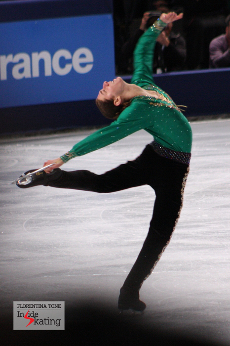 Jason Brown in Paris, during practice