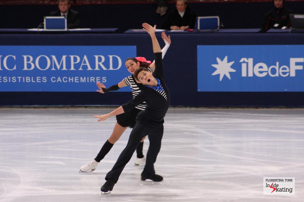 Ksenia Monko and Kiril Khaliavin
