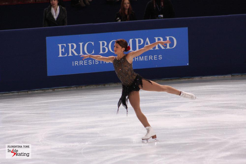 "Samantha Cesario as ""Carmen"", at the 2013 edition of TEB"
