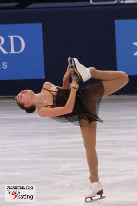 Adelina, at the 2013 TEB, during her free program