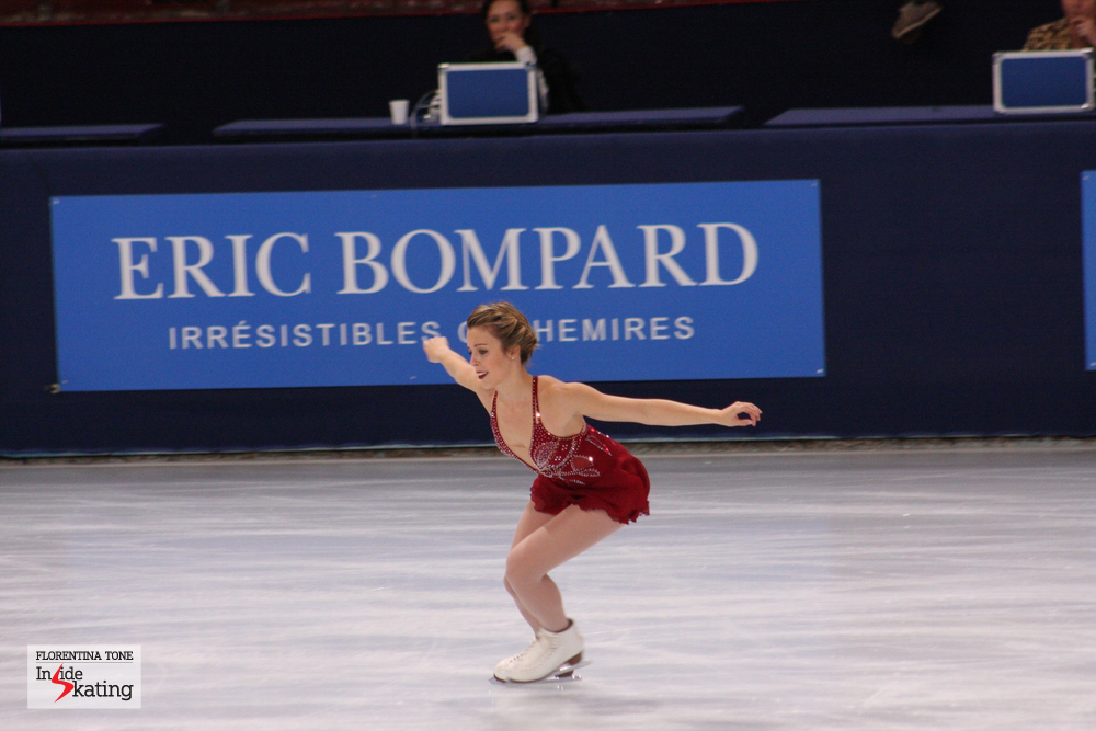 Ashley won her second gold at Trophee Eric Bompard in Paris