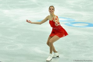 Rostelecom Cup: the girl with the butterflies