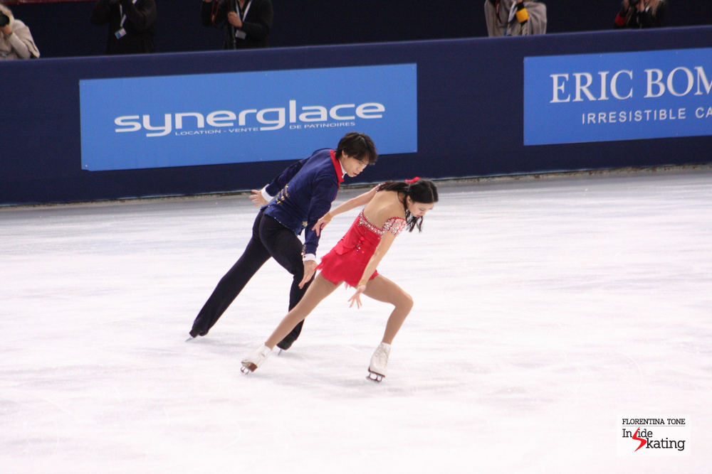 "Dancing to a piece of music from ""Les Miserables"" in the free program, Qing Pang and Jian Tong will fight for a podium placement in Fukuoka"