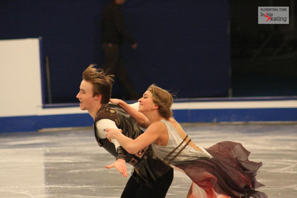 Viktoria Sinitsina and Ruslan Zhiganshin