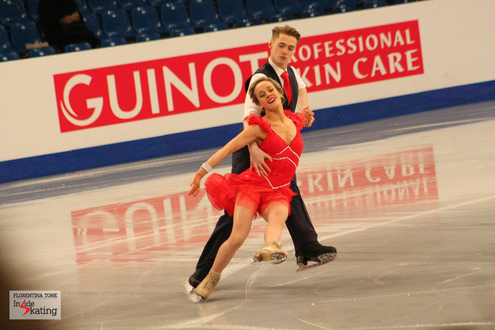 Pernelle Carron and Lloyd Jones (Great Britain)