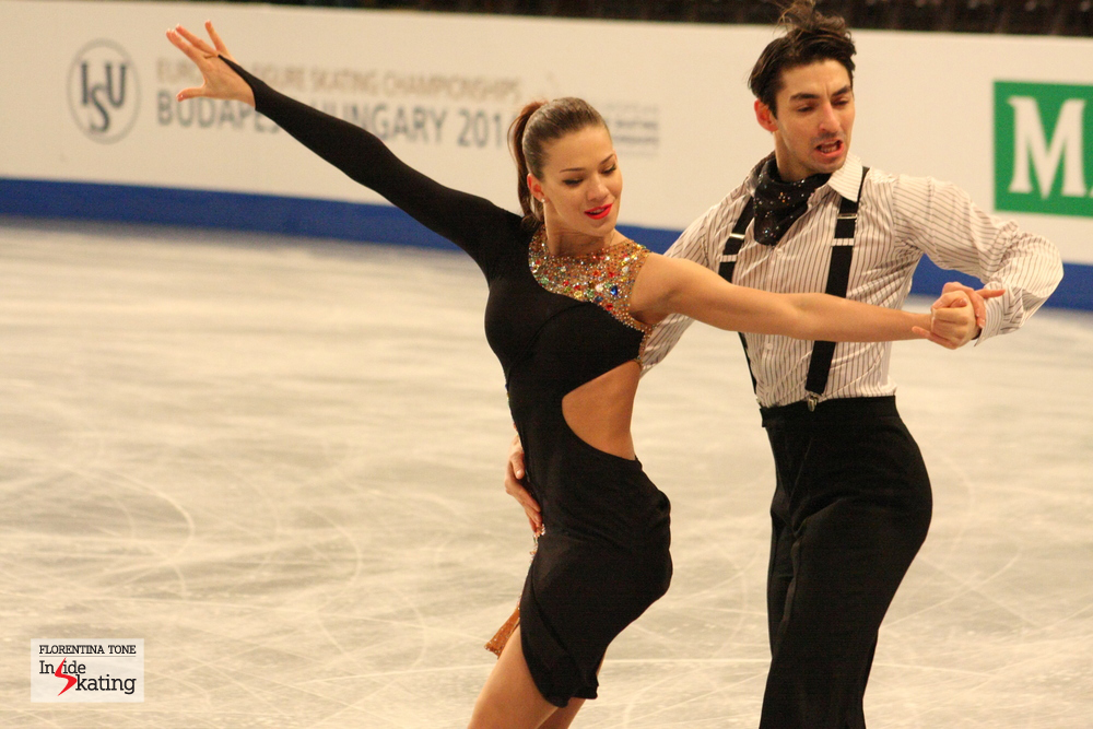 Alisa Agafonova and Alper Ucar (Turkey)