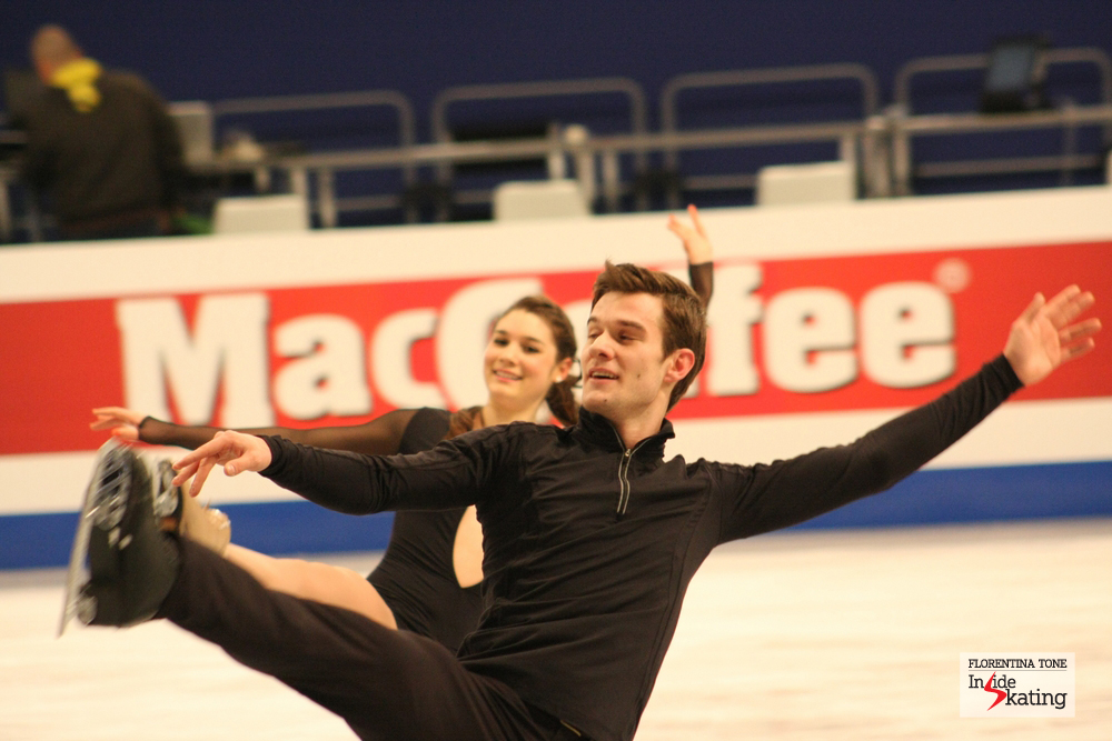 Laurence Fournier Beaudry and Nikolaj Sorensen (Denmark)