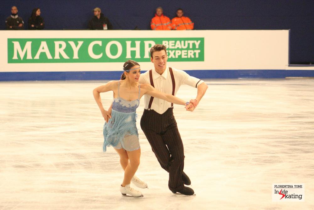 Federica Testa and Lukas Csolley (Slovakia)