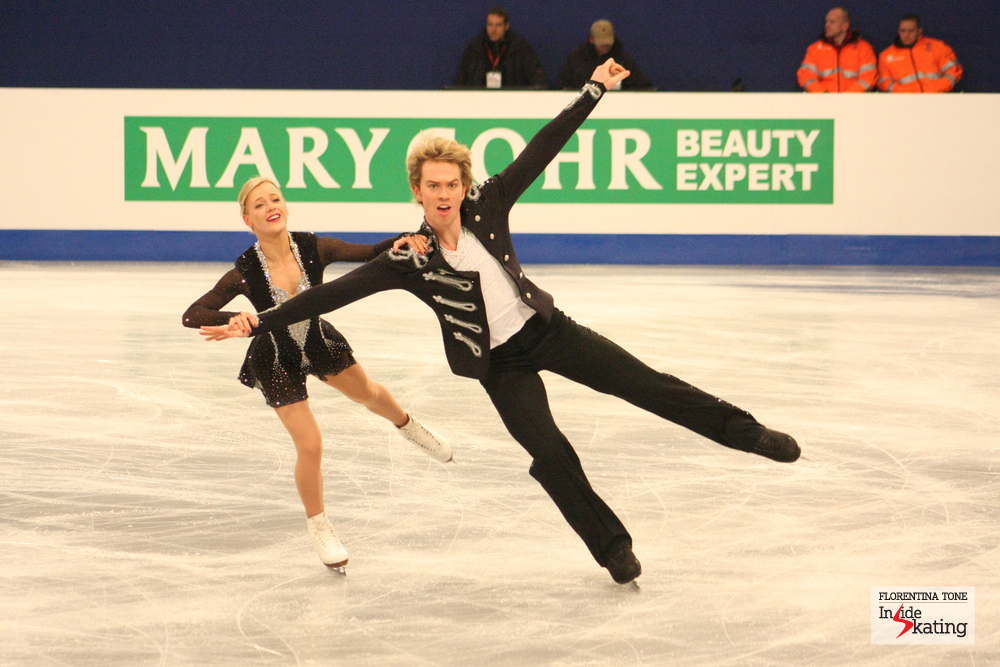 Penny Coomes and Nicholas Buckland (Great Britain)