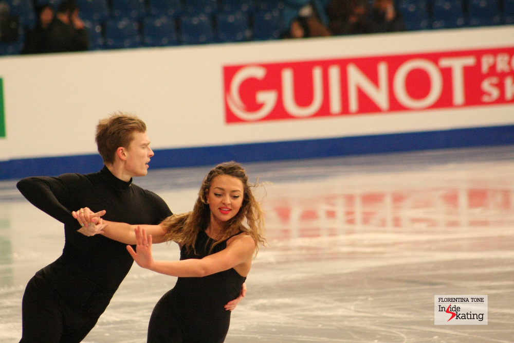 Ekaterina Riazanova and Ilia Tkachenko (Russia)