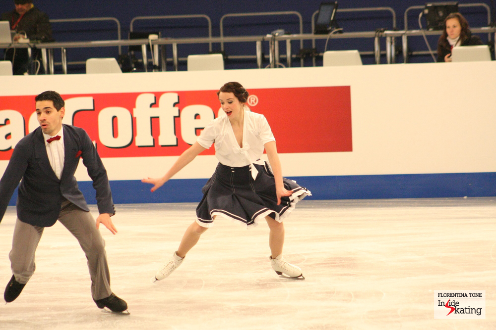 Anna Cappellini and Luca Lanotte (Italy)