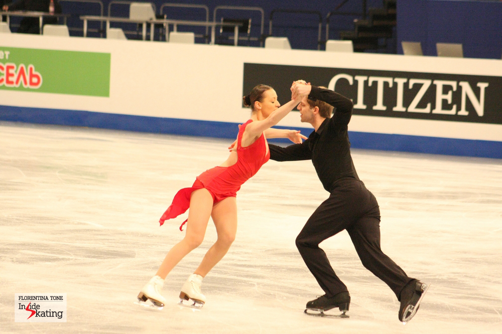Angelina Telegina and Otar Japaridze (Georgia)