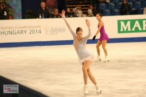 The Europeans, day two: ladies' practice