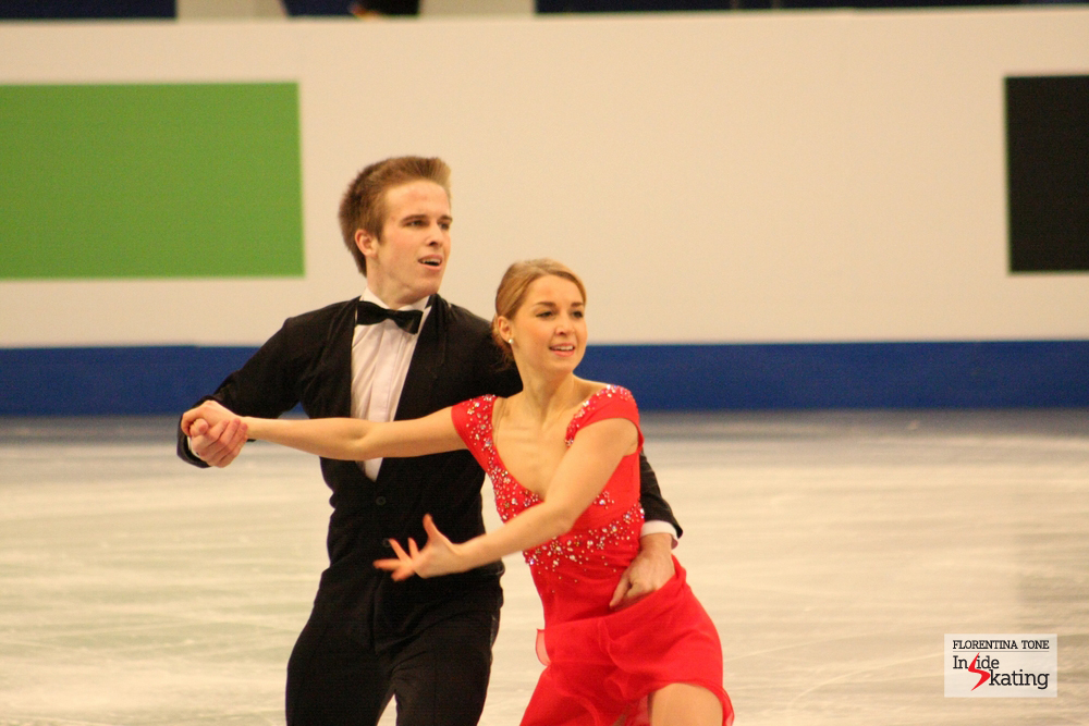 Justyna Plutowska and Peter Gerber