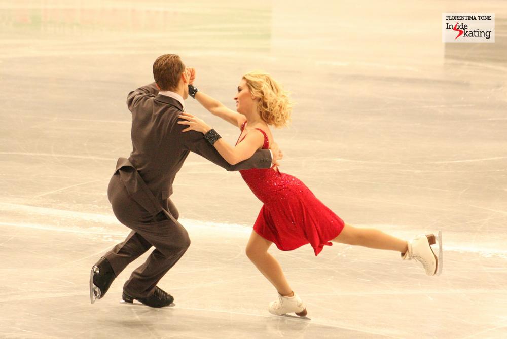 Isabella Tobias and Deividas Stagniunas