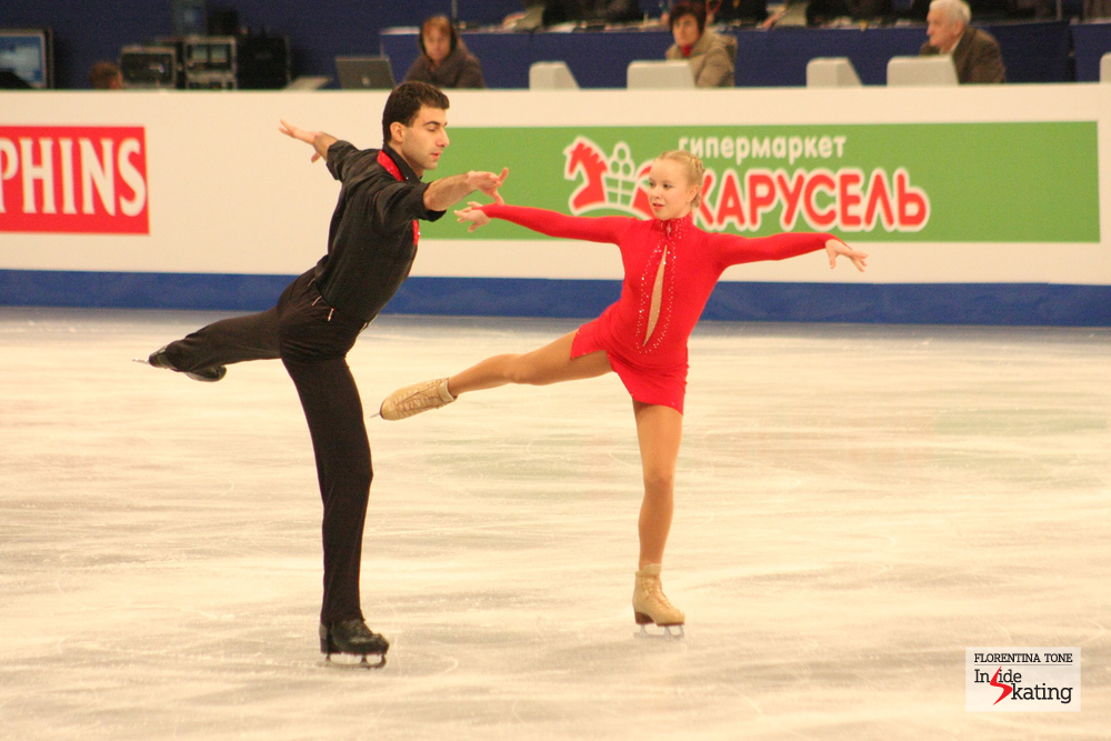 Elizaveta Makarova and Leri Kenchadze