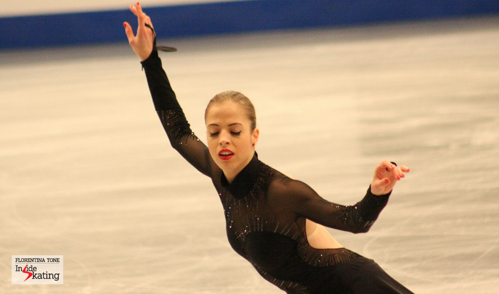 "Carolina Kostner skating her ""Bolero"" in Budapest (2014 Europeans, January)"