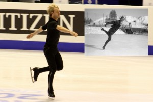 With four Olympic medals, Plushenko equals Gillis Grafström's record