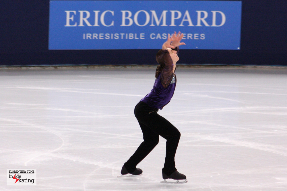 The America Jason Brown, in November, at the 2013 Trophee Eric Bompard