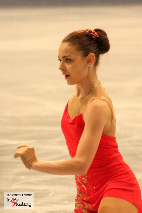Adelina Sotnikova, a very convincing Carmen (here, at the Europeans in Budapest, a month ago)