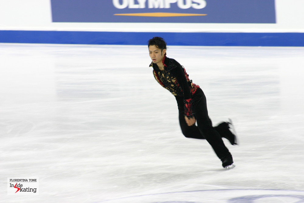 Daisuke Takahashi, in March 2010, during his best season ever (the Japanese won the Olympic bronze in Vancouver and then the World crown in Turin)