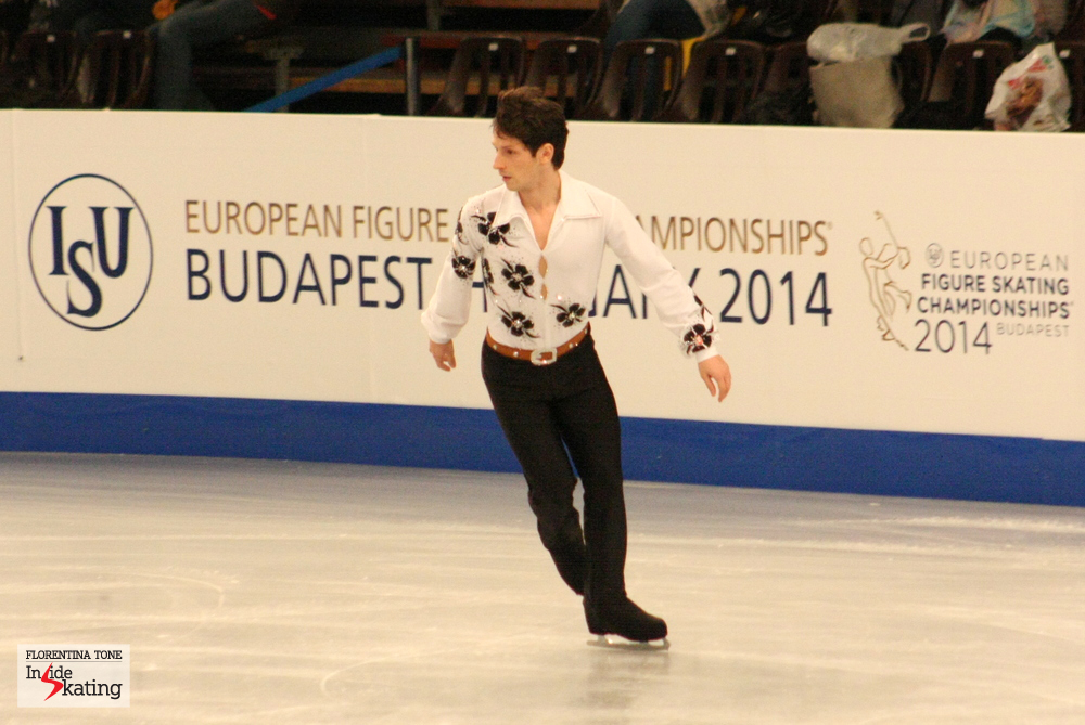 Zoltan Kelemen at the 2014 Europeans in Budapest