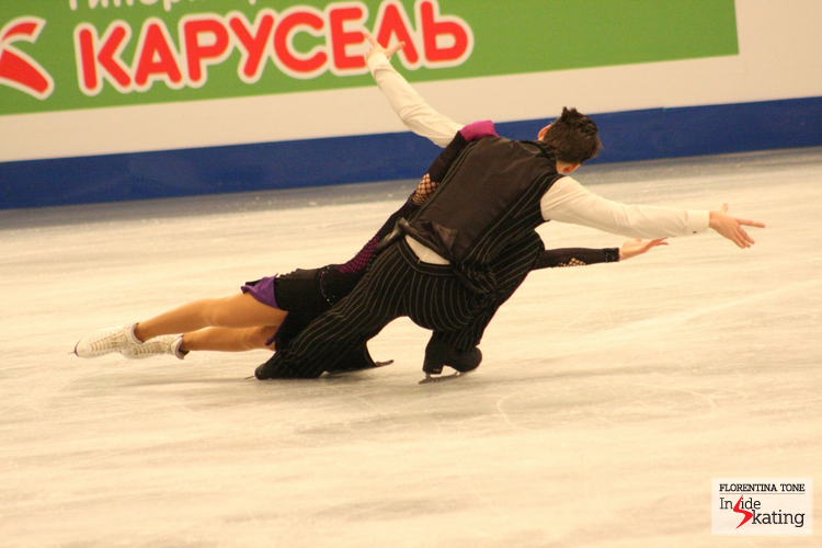 Federica Testa and Lukas Csolley