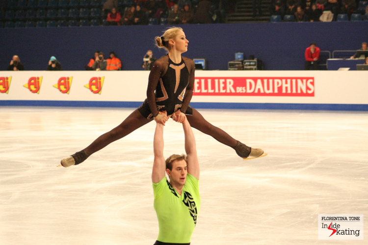 Julia Lavrentieva and Yuri Rudyk